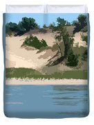 Dunes Of Lake Michigan Duvet Cover