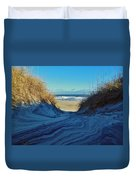Dunes Sand Art By Mother Nature 2/08 Duvet Cover