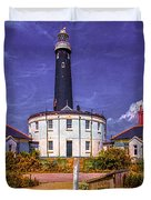 Dungeness Old Lighthouse Duvet Cover