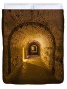 Dungeon At Castillo San Cristobal In Old San Juan Puerto Rico Duvet Cover