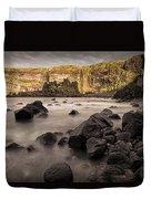 Dunluce Castle Shadow Duvet Cover