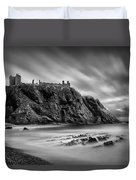 Dunnottar Castle 2 Duvet Cover by Dave Bowman