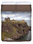 Dunnottar Castle Duvet Cover