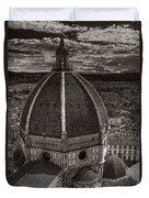 Duomo Dalla Campanile  Duvet Cover