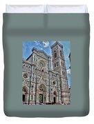 Duomo Di Firenze Duvet Cover