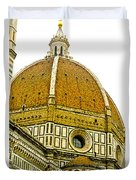 Duomo Florence Italy Duvet Cover