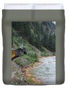 Durango To Silverton Railroad Duvet Cover