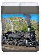 Durango To Silverton Train Duvet Cover