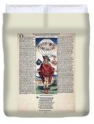 Durer: Syphilitic, 1496 Duvet Cover