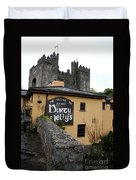 Durty Nellys And Bunraty Castle Duvet Cover