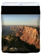 Dusk At The Canyon Duvet Cover