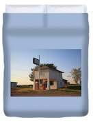 Dusk On Route 66 Duvet Cover