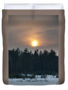 Dusky Sunset Duvet Cover