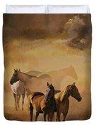 Dust Bowl Duvet Cover
