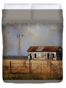 Dust In The Air Duvet Cover