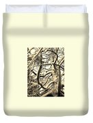 Snow Dusted Limbs Duvet Cover