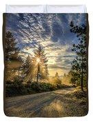 Dusty Road Duvet Cover