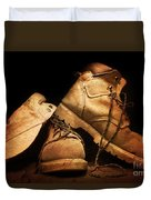 Dusty Work Boots Duvet Cover