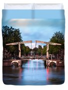 Dutch Bridge Duvet Cover