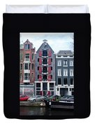 Dutch Canal House Duvet Cover