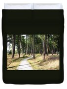 Dutch Country Bicycle Path Duvet Cover