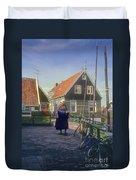 Dutch Traditional Dress Duvet Cover