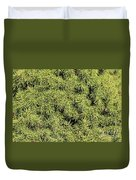 Dwarf Evergreen Duvet Cover