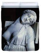 Dying Lucretia  Duvet Cover