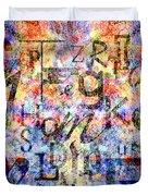 Dyslexia Duvet Cover