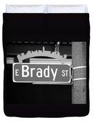 E Brady St Duvet Cover