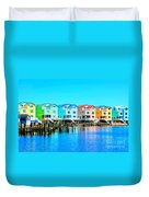 E Sea Living Duvet Cover