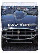 E Type Jaguar V12 Duvet Cover