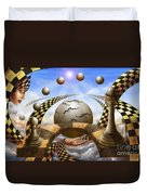 Each Pawn Dreams To Become A Queen Duvet Cover