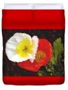 Eager Poppies Duvet Cover