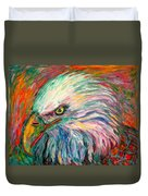 Eagle Fire Duvet Cover