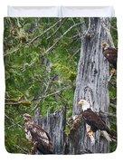 Eagle Gang Duvet Cover