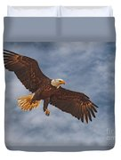 Eagle In The Sky Duvet Cover