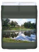 Eagle Knoll Golf Club - Hole Six Duvet Cover