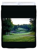 Eagle Knoll - Hole Fourteen From The Tees Duvet Cover