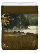 Eagle Lake Sunrise Duvet Cover