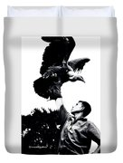 King Of Vultures Duvet Cover