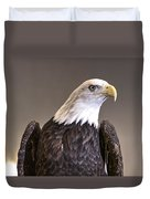 Eagle On Watch Duvet Cover
