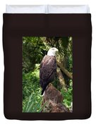 Eagle Portrait Duvet Cover