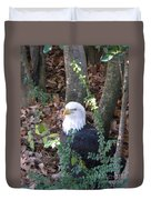 Eagle Pose Duvet Cover