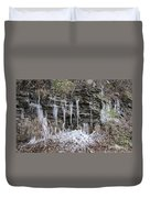Eagle Rock Icicles 2 Duvet Cover