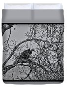 Eagles Along The Mississippi 2 Duvet Cover