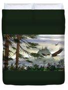 Eagles Flight Duvet Cover