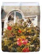 Alameda Roses Duvet Cover