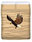 Eagles Pause Duvet Cover