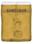 Eames Chair Patent 1 Duvet Cover